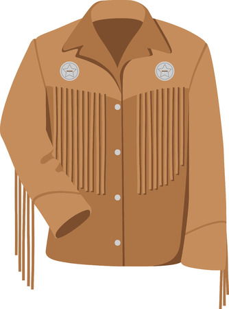 leather coat: Ride into the sunset, look back with no remorse.  A great design with the best of the west to indulge on projects for the inner cowboy in you.