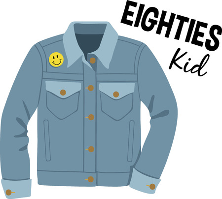 denim jacket: Heres to spreading some merry!  Bring cool chic and add style to your everyday projects with this funky design filled with humor!