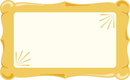 Utilice este signo en blanco para un mensaje de boda. Foto de archivo - 43918631