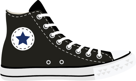 converse shoes clipart. converse shoes: rock on the wild side! stitch this cool design shirts, shoes clipart h
