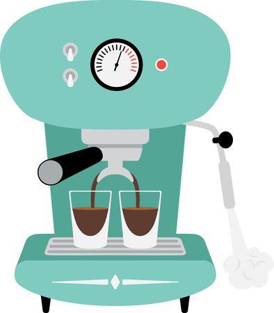 素晴らしい味のコーヒーを飲むこのエスプレッソ マシンを使用!
