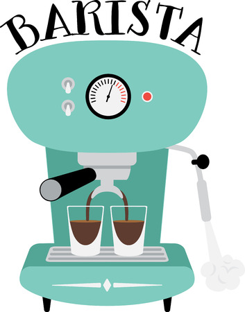 coffee: Use this espresso machine to drink great tasting coffee!