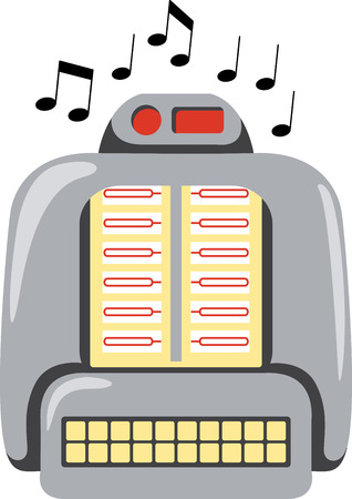 out of use: Use this retro jukebox for spinning out classic musical tunes.