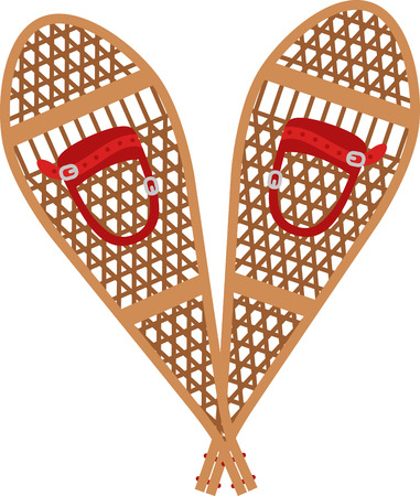 Use these snowshoes for a great skiing experience!