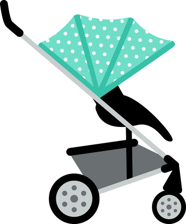 Decorate a nursery with baby items.
