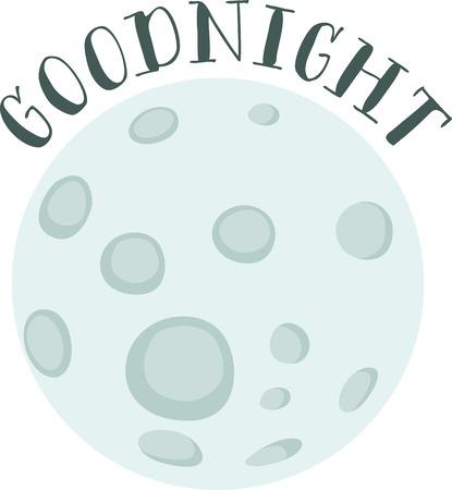 満月で素敵な夜のひとときをお楽しみください。  イラスト・ベクター素材