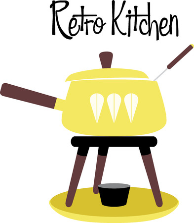 Accent your kitchen with delicious foods. Ilustração
