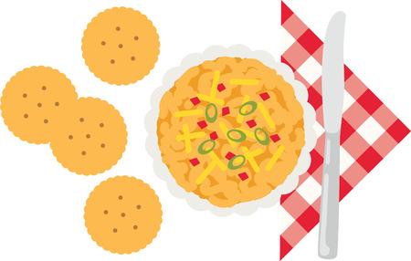 Akzent Ihre Küche mit leckeren Speisen. Standard-Bild - 43974166