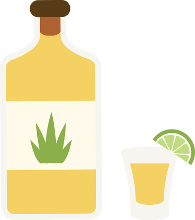 shots alcohol: Everyone looks forward to the fiesta with music, laughter and fun.  Use this design on a shirt or hat to join in with the festivities.  Everyone will love it!