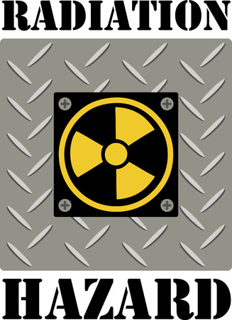 If you like science you will love this radiation symbol.