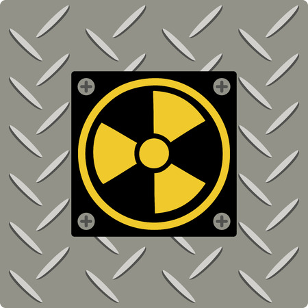 radioactive radiation: If you like science you will love this radiation symbol.