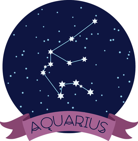 aquarius star: Show off the constellation of your zodiac sign.