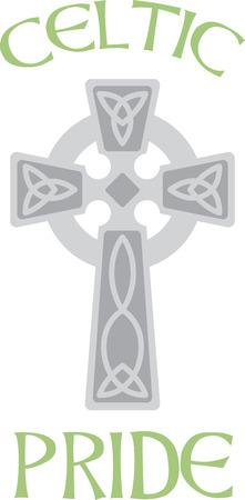 croce celtica: Questa bella croce celtica irlandese � una bella immagine per il vostro prossimo progetto.