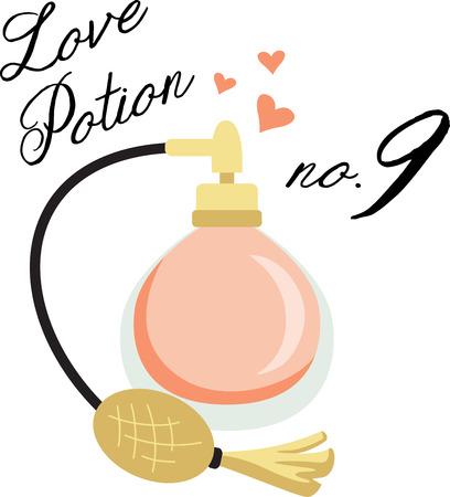 eau de toilette: This perfume bottle is the perfect image for your next design.
