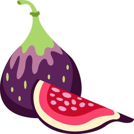 イチジクは、食べることや次の食事に使用に適しています。 このイメージを使用して、あなたの台所にインスピレーションをもたらす!