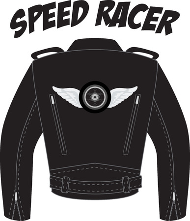 Rev your engines, its full speed ahead!  Stand out from the crowd and make a stylish statement with this design on t-shirts, jackets and more.