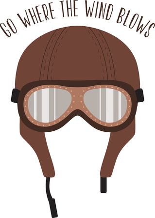 Create show-stopping jackets, shirts and accessories for your free riders with this antique helmet design! Ilustrace