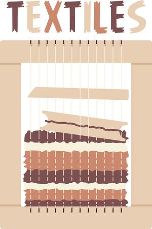 Textiles Ilustração