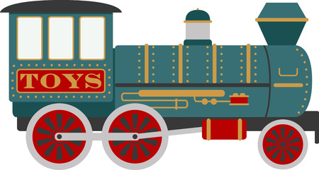 Choo Choo. Stock Illustratie