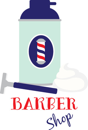 Looking your best can take the right equipment and preparation.  Get a better shave today with this design.  Makes a fun gift for Dad!
