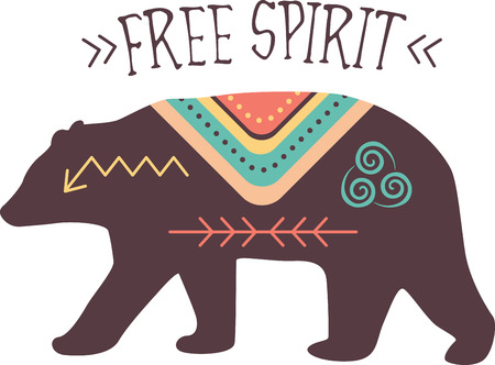 free spirit: Transform your projects into the ultimate free spirit this colorful, fun native inspired design on blankets, throws, bedspreads and more!