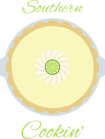 tarts: A delicious dessert is always welcome in any kitchen. Illustration
