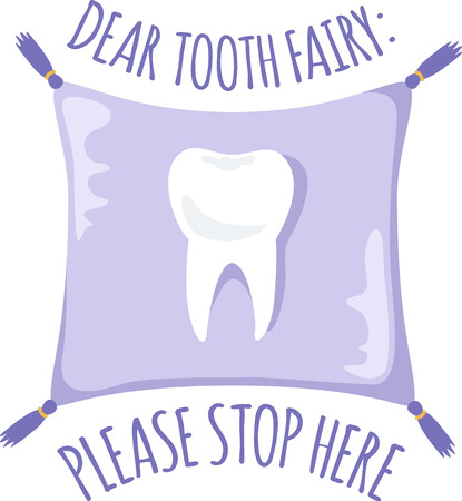 faerie: The tooth fairy will leave a gift for a special child.
