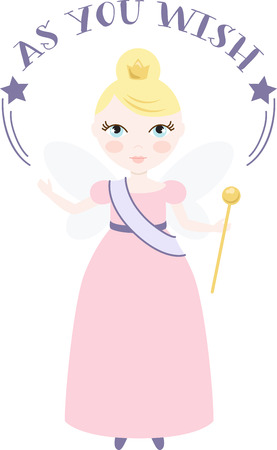 wee: A pretty fairy will spread happiness.