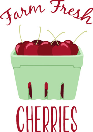 wall decor: Cherries are an all time favorite when it comes to kitchen decor.  This design will be perfect on table linens, kitchen mats, wall decor, wall plaques and more. Illustration