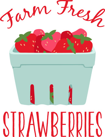 scent: Little screams summer quite like the sweet scent and ripe taste of fresh, plump strawberries.  Enjoy the harvest with this design on place mats and linens! Illustration