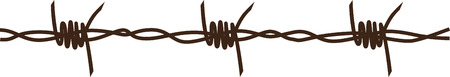 barbed wire fences: Looking to add style to your the no entry zones at home  This design is perfect on boys room furniture and decor!