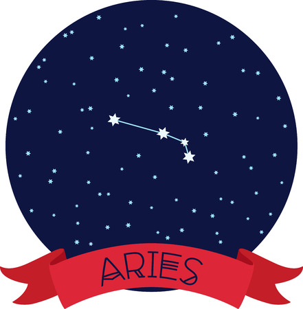 riband: Show off the constellation of your zodiac sign.
