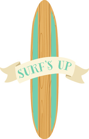 Hit the beach, catch a wave! It is an adventure of tall crashing waves and long surfboards with this design on beach towels, totes and more!