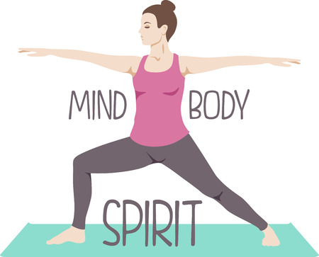 attain: Achieve union of the spirit, body and mind and attain mind-body balance.