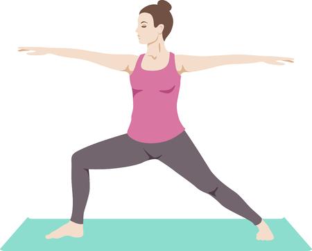 Achieve union of the spirit, body and mind and attain mind-body balance. Çizim