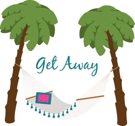 Its time to relax and stop worrying about anything!  This design is perfect on mens tropical shirts, throw pillows, beach towels and more. Illustration