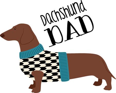 bred: Este dise�o est� seguro de calentar los corazones de los amantes del perro y ser� adorable en sudaderas, chaquetas perro, totalizadores y m�s. Vectores