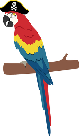Spread cheery tropical flavor around the home with this colorful parrot design on throw pillows, napkins, sweatshirts, bags and more!