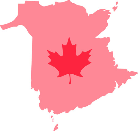 hopscotch: Learn all you wanted to know about New Brunswick Canada Map Maple leaf with pictures by Hopscotch!