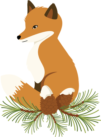 pine boughs: With a perfect design to please the game hunter, add fun and creativity to your interior projects! Illustration