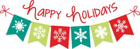 Deck der Hallen und der Rest von zu Hause aus in Weihnachtsstimmung mit diesem Entwurf, wie Ecken und Rahmen für Ihren Aufenthalt Projekte. Standard-Bild - 46332460