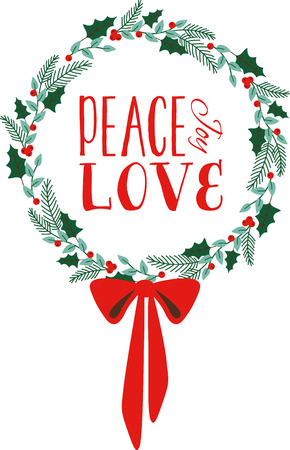 a bough: Deck the halls and the rest of your home in Christmas cheer with this design on your holiday projects.
