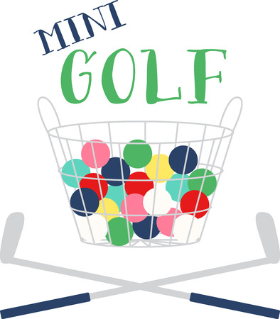 Shake the rust off your swing and start the season off right. This design offers endless possibilities for gifting ideas that are at the top of every golf lovers' wish list!