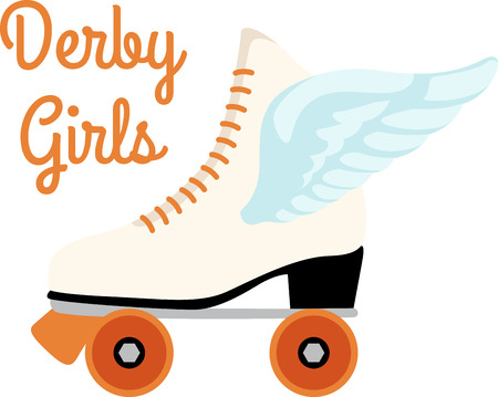 rollerblade: Grab your friends or family and lace up your skates! Take a spin with this design on clothes, towels, pillows, bags, t-shirts and jackets for your skater!