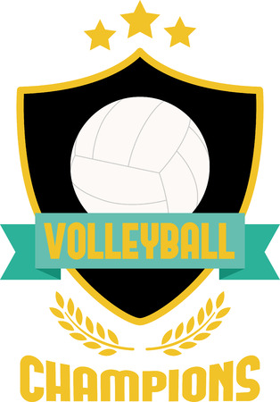 towels wall: Looking for the perfect Birthday or Christmas gift Embroider this design on clothes, towels, pillows, gym bags, quilts, t-shirts, jackets or wall hangings for your volleyball enthusiast! Illustration