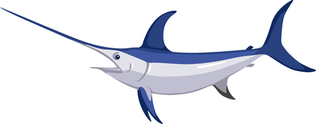 is magnificent: This magnificent swordfish is a sharp design for fishermen, boaters and ocean lovers and will look perfect on clothes, towels,  gear bags,  t-shirts, jackets or wall hangings.