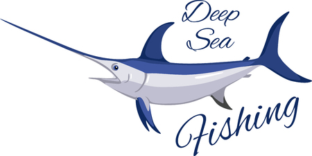 fishes: This magnificent swordfish is a sharp design for fishermen, boaters and ocean lovers and will look perfect on clothes, towels,  gear bags,  t-shirts, jackets or wall hangings.