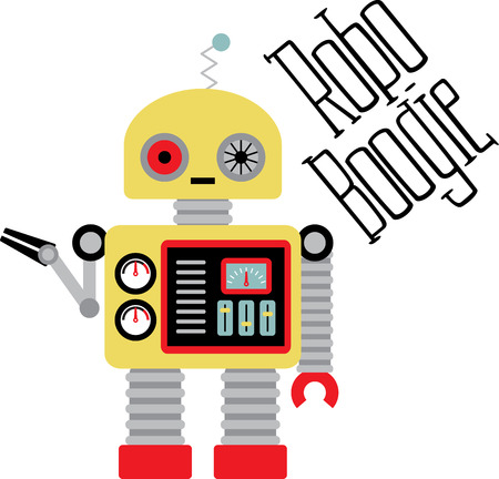 robo: The feeling of awed wonder that science can give us is unparalleled.  This design is perfect for your science geeks on t-shirts, lab coats, shirts, jackets and more. Illustration