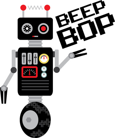 beep: The feeling of awed wonder that science can give us is unparalleled.  This design is perfect for your science geeks on t-shirts, lab coats, shirts, jackets and more. Illustration
