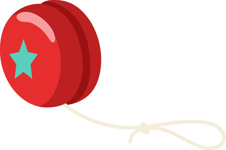 yoyo: For hours of pure fun, nothing like a yo-yo!  This adorable design will look great on bodysuits, layettes, baby t-shirts, hats, bibs  more.